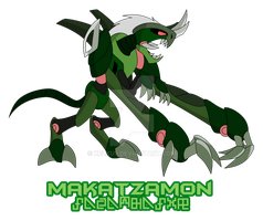 Makatzamon :Purified Beast Steel Spirit: by Xelku9