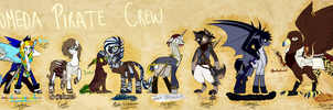 [LOEP Concepts] The Andromeda Crew by glitteronin