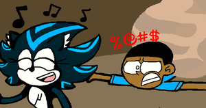 How come you Sonic characters get to run faster?! by Sonjamsn40