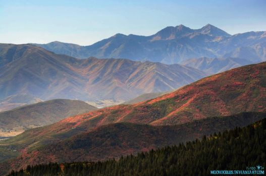 Rolling Mountains by Moohoodles