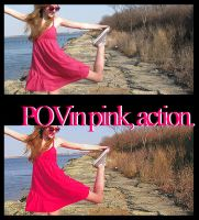 +Point of view in pink, action by livingintransylvania