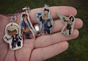 Assassin's Creed Charms by TheGeekEmporium