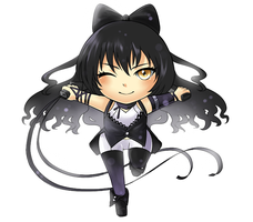 Blake RWBY Chibi Commission Sample by FirstiArt