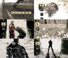 MGS: PeaceWalker 2.0 PSP Theme by takebo