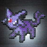 Bead Sprite - No. 196 Espeon by SugarCubeCreations