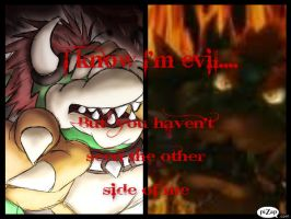 The Evil Within: Bowser's words by BrookeCPhotography