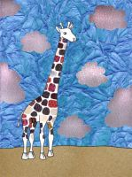 Patchwork Giraffe by River-Roane