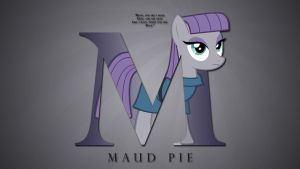 Wallpaper : Letters - Maud Pie by pims1978