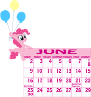 Pinkie Pie - June by MountainLygon