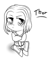 .:Thor Chibi:. by Cintia-the-Cat