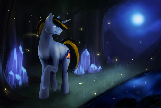 [Commission] Nightflame by OblivionHeart13