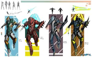 Suits of awesome by BombOPAUL