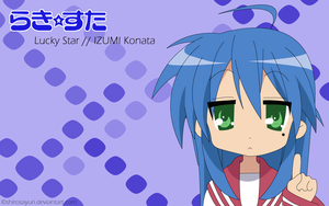Konata Wallpaper by Shirosayuri