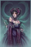 fridas dark angel by Harpyqueen