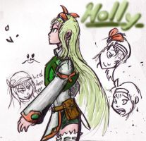Holly of Runic by cupil