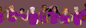 Station Interns by Sour-Purple
