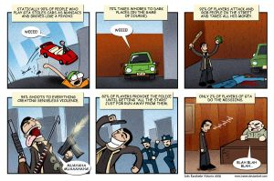 GTA IV strip by ivanev