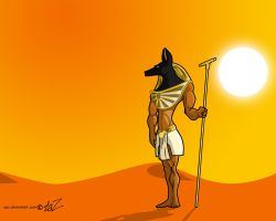 Rise of Anubis by spz