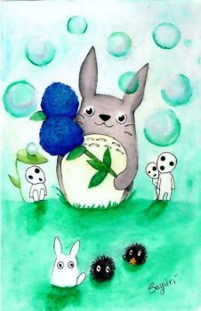totoro and other by serre93