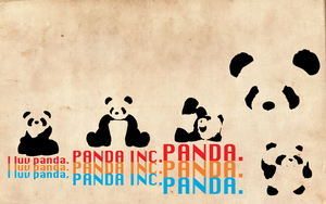 Panda Wallpaper by Momage