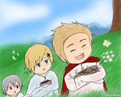Chibi Nordics: The Journey by Toboe4Ever