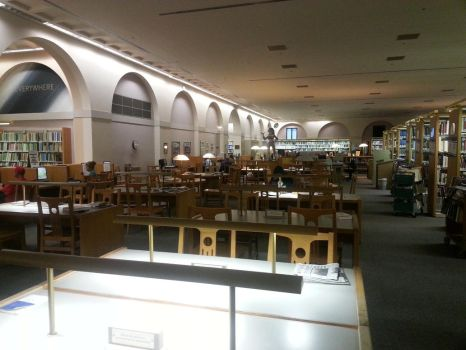 The Inner Warmth of the Main Library - Fine Arts by choopytrags