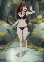 Erza Scarlet weight gain pt 1 by DLeagueman