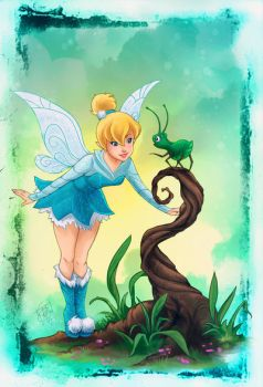 Tinkerbell Blue by clefchan