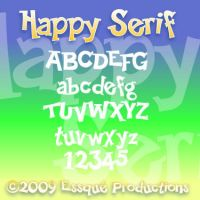 Happy Serif by Milomax27