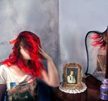 Self Portrait with Self Portrait and Reflection by ikai-zixie