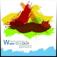 photoshop Water Colours brushes by durgeshgera