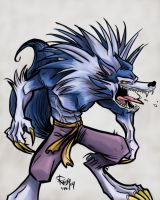 Jon Talbain in technicolor by RangyRougee