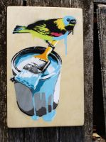 Bird on a Bucket by socallow