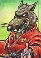 SPLINTER sketch card by JLWarner