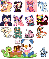 Pixel Dump - April-June by chickenmcfuckit