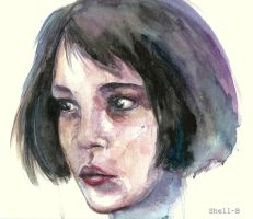 Watercolor Girl (Leon) by shellanime