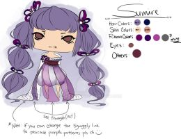 Sumire OC by Sky-Ripple