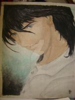 Old Acrylic painting- Dave by BlackAngel-Diana