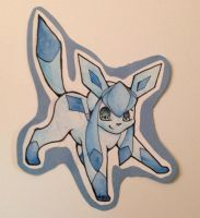Chibi Pokemon Project: Glaceon by PakajunaTufty
