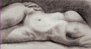 Life Drawing 2 by GleamofDreams