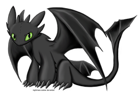 Toothless by nightmare-soldier