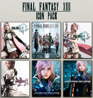 Final Fantasy XIII Icon Pack by dander2