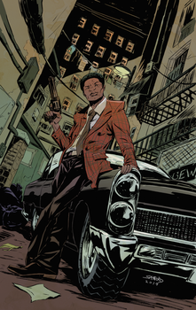 SHAFT  variant cover#1 by greenestreet