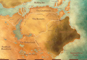 TMM Map of Ferelden by WeeRLegion