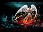 ::LUCIFER:: 1024 wallpaper by real4fantasy