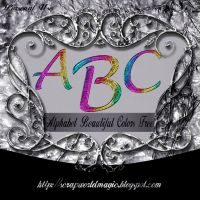 Alphabet Beautiful Colors Free by weezya