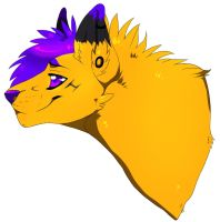 Yellow Purple Blue by Soulitare