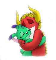 Huggies for Sweetpea and Devil by Mickeymonster