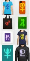 Society6 Sailor Scouts Collection by trekvix