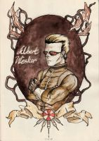 Captain Wesker by ToxicNeonSpaceMonkey